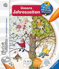 Tiptoi Unsere Jahreszeiten Ab 4 bis 8 Jahren Ravensburger + BONUS