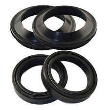 4Pcs/Set Motorcycle Front Fork Dust & Oil Seal 35x48x11 For Honda Yamaha Suzuki