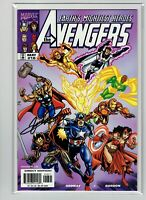 The Avengers #16 George Perez Signed 1999
