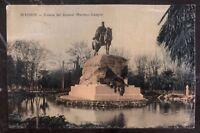1928 Barcelona Spain RPPC Postcard Cover To Canal Zone Panama General Martinez
