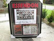ESSENDON 1962 PREMIERS 50TH ANNIVERSARY TEAM SIGNED & FRAMED