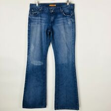 James Cured By Seun Womens Jeans Size 29 100% Cotton Distressed Flare
