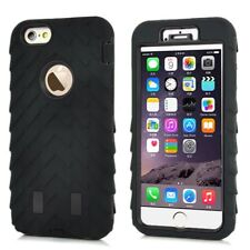 "Apple iPhone 6 6s 4.7"" outdoor case skidproof Tyre neumáticos perfil funda negra"