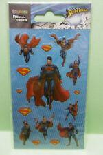SUPERMAN STICKERS planche de 14,5 cm x 7,5 cm 1