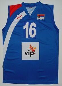 Serbia DaCapo Volleyball Jersey Shirt Match Worn Game Used FIVB