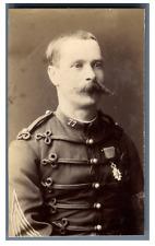 France, Officier de l'armée française décoré Legion d'Honneur  Vintage