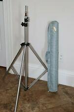 """Bogen Light Stand with Standard 5/8"""" Head Model #3086 (V2453)"""