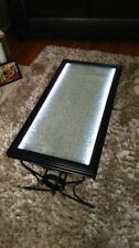 Handmade Less than 60cm High Glass Rectangle Coffee Tables