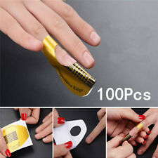 Nail Art Sticker Polish Gel Tips French Tips Guide Nails Art Form Manicure 100