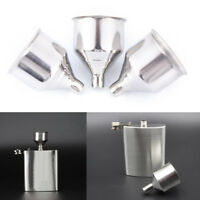 2Pc 8mm Stainless Steel Wine Funnel For All Hip Flasks Flask Filler Wine Pot、 ^^