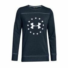 Under Armour Freedom Microthread Womens XL Blue Long Sleeve T-Shirt - NWT