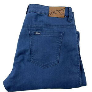 Lee Riders Size 10 Blue Jeans Mid Rise Super Skinny Casual Womens
