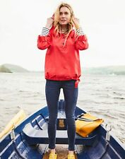 Joules Womens Embleton Hooded Pop Over Jacket - Red - 18
