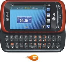LG Xpression C395 Red AT&T Unlocked Cellular GSM 3G Slider Basic Phone