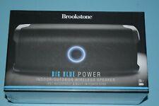 Brookstone Big Blue Bluetooth IPX7 Play Indoor/Outdoor Speaker BRAND NEW SEALED