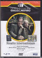 Dvd Sceneggiati Rai RICATTO INTERNAZIONALE con Massimo Girotti completa 1980