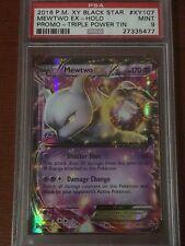 Pokemon Black Star Promo XY107 Mewtwo EX HOLO PSA 9