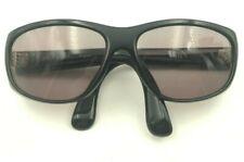 Vintage Norma Kamali France K612 Black Oversized Oval Eyeglasses Frames