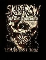 SKID ROW cd lgo Slave to the Grind SKULL CHAIN '91-'92 Official SHIRT LRG new