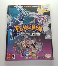 Pokemon Diamond & Pearl Prima Official Scenario Strategy Guide Vol 1 Nintendo DS