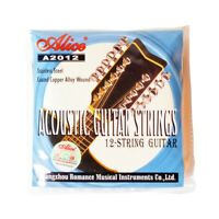 Alice A2012 12 Strings Acoustic Guitar Strings 010-026 Musical Instrument G W7P5
