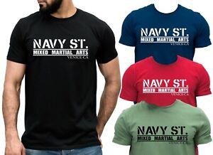 NAVY ST KINGDOM T-shirt 2014 Tv Show Mixed Martial Arts MMA GYM Training Tee Top
