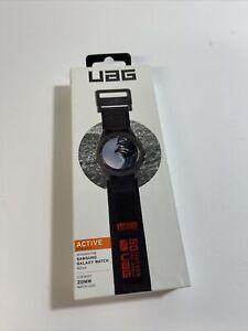 Urban Armor Gear UAG Samsung Galaxy Active Watch Band 42mm/20mm Lugs Black/Red