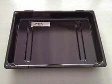 INDESIT ID60C2WS COOKER OVEN GRILL PAN DRIP TRAY 380 x 270mm GENUINE PART