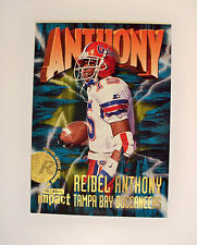 1997 OFFICIAL SKYBOX IMPACT ROOKIE #208 REIDEL ANTHONY - COMIC GRAPHICS - MINT