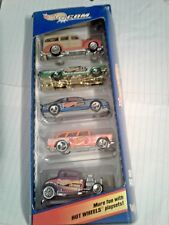 hot wheels 5 pack .com with nomad and chevy sp3 crome rims
