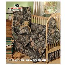 Mossy Oak Camouflage Literie pour Berceau Lit Robe, Poussière Ébouriffé -