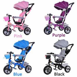 Baby Kids Trike 3 Wheels Pedal Bike Tricycle Boys Girls First Ride On Bike Gifts