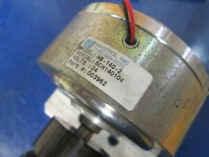 Magtrol Inc HB-140-2 24V DC 12,000 Max Rpm Hysteresis Brake W/Axle & Coupling