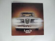 Lancia 2000. Catalogo pubblicitario