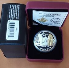 2014 Canada $20 100th Anniversary of the Royal Ontario Museum Fine Silver Coin