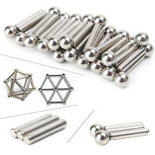 63x Neodymium Magnet Bars Metal Balls Creative Magnets Permanent Magnets