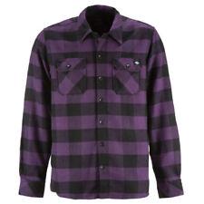 Karierte Herren-Freizeithemden & -Shirts Hemd-Stil in Lila