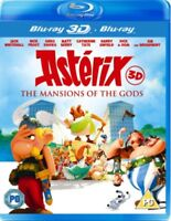 Asterix & Obelix - Mansion Of The Gods 3D+2D Blu-Ray NEW BLU-RAY (KAL8484)