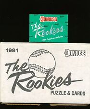 Lot of 15 Sets of 1991 Donruss Rookie Sets ) Factory (Bagwell, Pudge Rodriguez)
