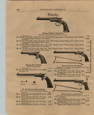 1903 PAPER AD Stevens Bicycle New Model Pistol Wire Frame Stock King Air Rifle
