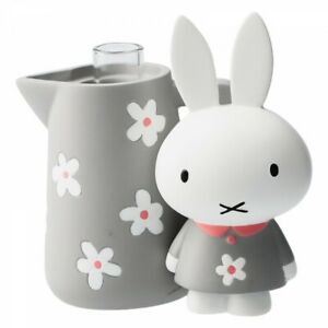 Miffy Single Flower Vase Milk Pot Gray Japan Limited