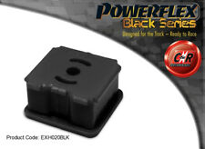 Powerflex NOIR RENAULT CLIO II (inclus 172 & 182) Support échappement exh020blk