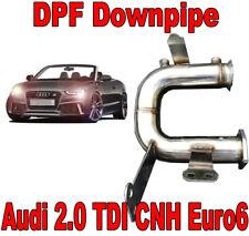Downpipe DPF FAP Suppression AUDI A4 A5 A6 Q5 2.0 TDI 190 163 HP Euro 6 CNH VAG5