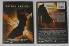 Batman Begins  Christian Bale  U.S. dvd in standard case, sealed