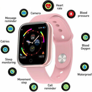 Waterproof Bluetooth Parameter Smart Watch For iPhone Samsung Men Women Kids