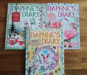 Daphnes Diary 2018+2019+2020- Kreative Hefte zum Schmökern und Träumen