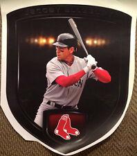 "Red Sox Jacoby Ellsbury shield Mural FATHEAD 23"" x 19"" Vinyl MLB Wall Graphics"