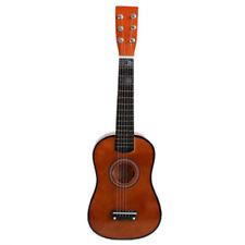 "23"" Guitarra Mini Guitarra Juguete musical de ninos de tilo Instrumento de W7F5"