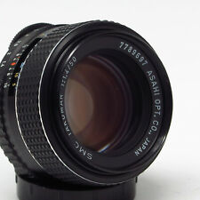 Asahi Pentax SMC Takumar 1:1.4 50mm 1.4 50 MF M42 - Fine vintage condition