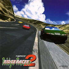 RIDGE RACER 2  JAPAN GAME SOUNDTRACK VICL-15031 NAMCO